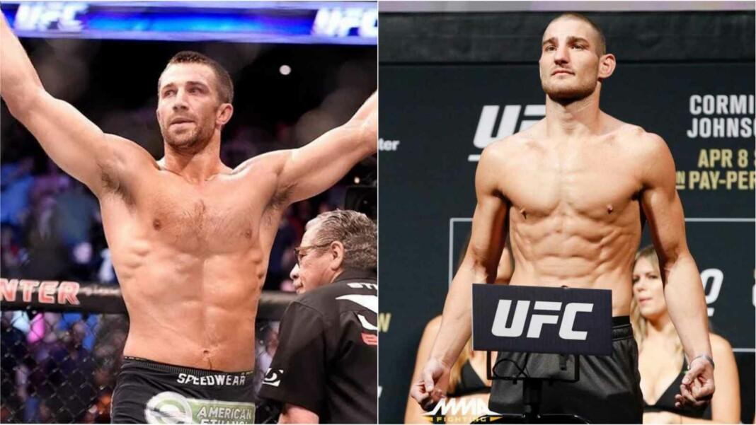 Luke Rockhold vs Sean Strickland
