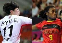 South Korea vs Angola women's handball