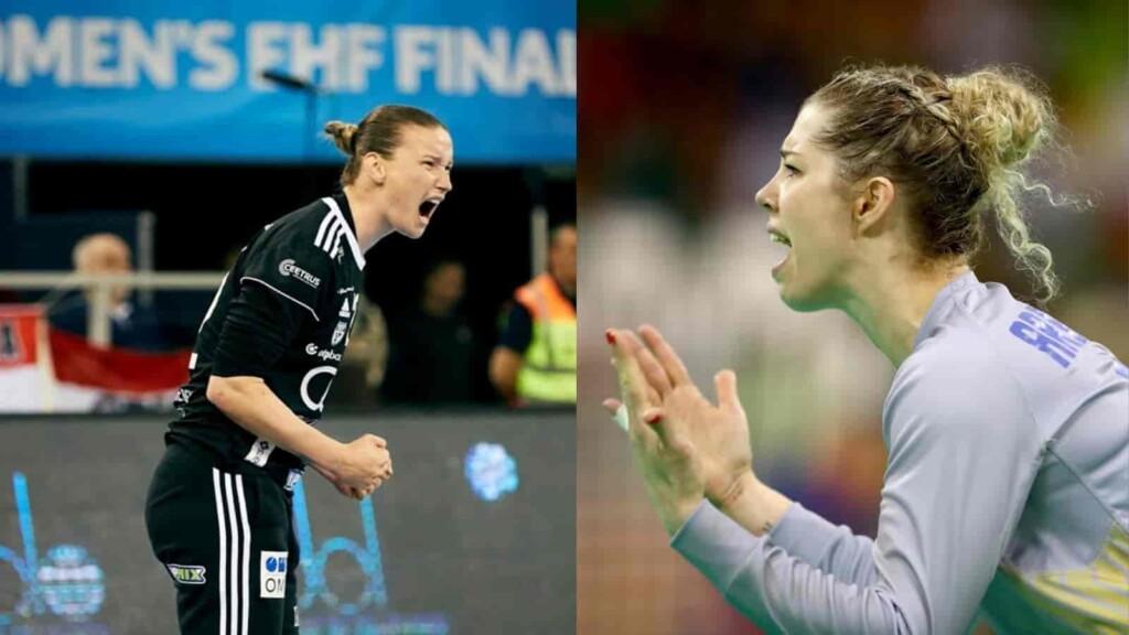 France vs Brazil women's handball
