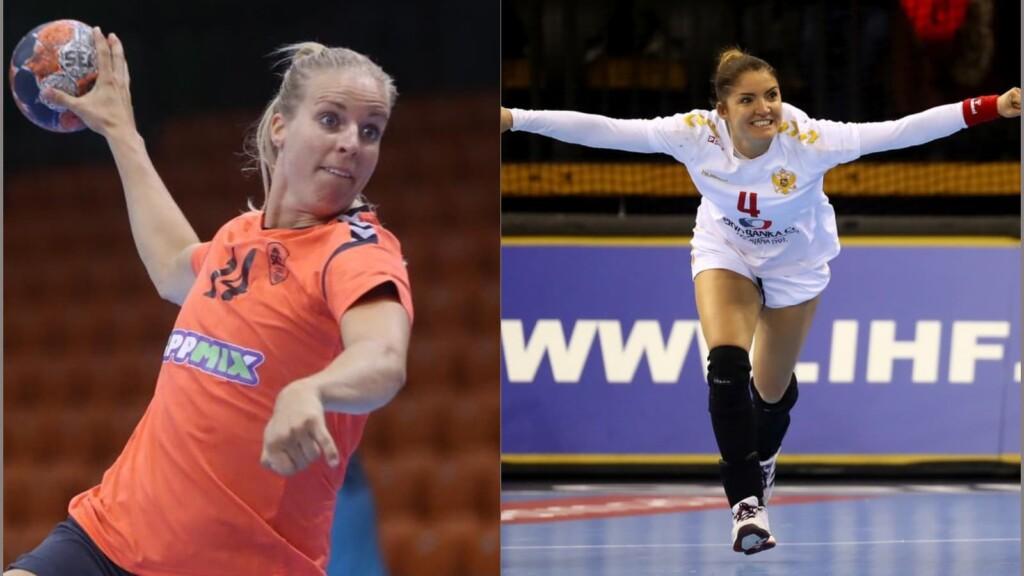 Netherlands vs Montenegro women's handball