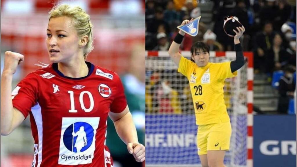 Norway vs Japan women's handball