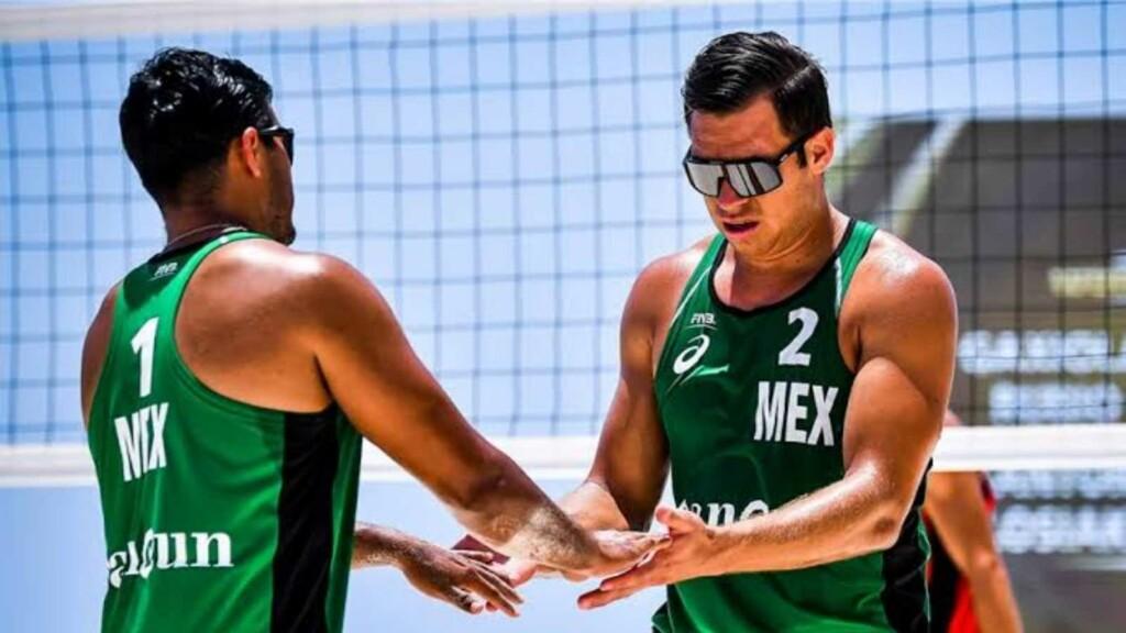Mexico men's beach volleyball team