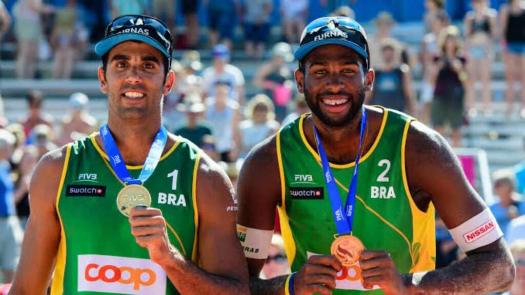 Brazil men's beach volleyball team