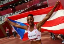 Jasmine Camacho-Quinn bags gold in women's 100m hurdles