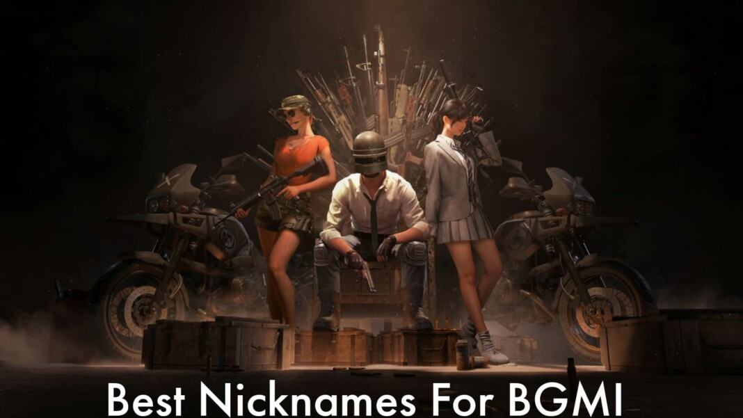 Top 30 best nicknames in BGMI for August 2021