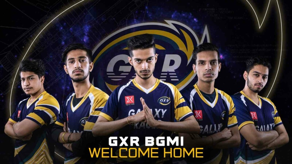 GXR eSports unveils their PUBG Mobile and BGMI rosters
