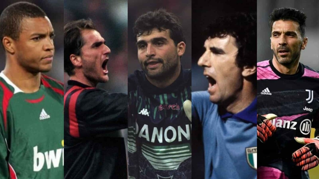 Top 5 all-time goalkeepers in Serie A
