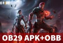 Free Fire OB29 APK+OBB Download links