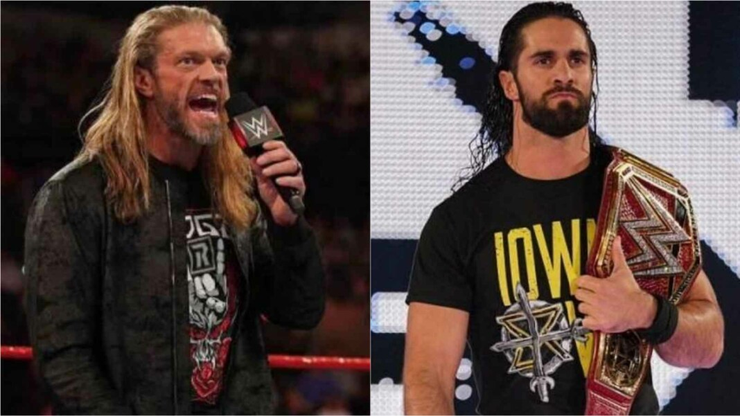Edge and Seth Rollins will face each other at Summerslam 2021