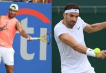 Rafael Nadal and Grigor Dimitrov