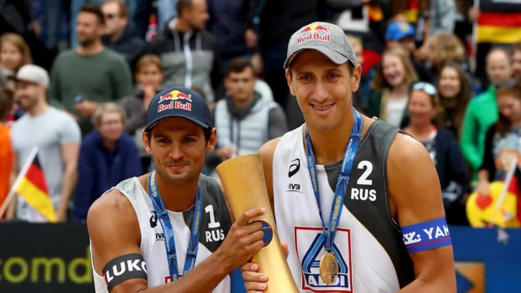 Viacheslav Krasilnikov and Oleg Stoyanovskiy
