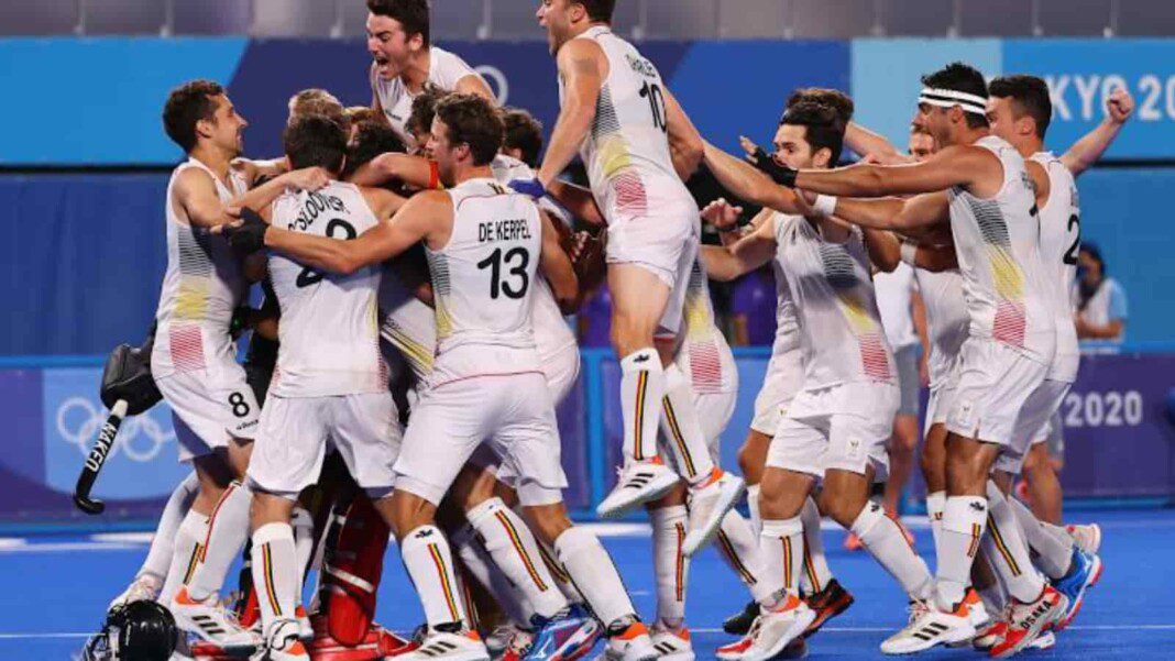 Belgium edge past Australia in the final; clinches gold in Tokyo Olympics