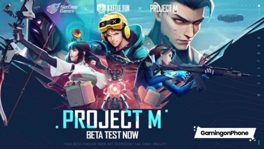 NetEase Project M: Game Similar to Valorant Mobile Released