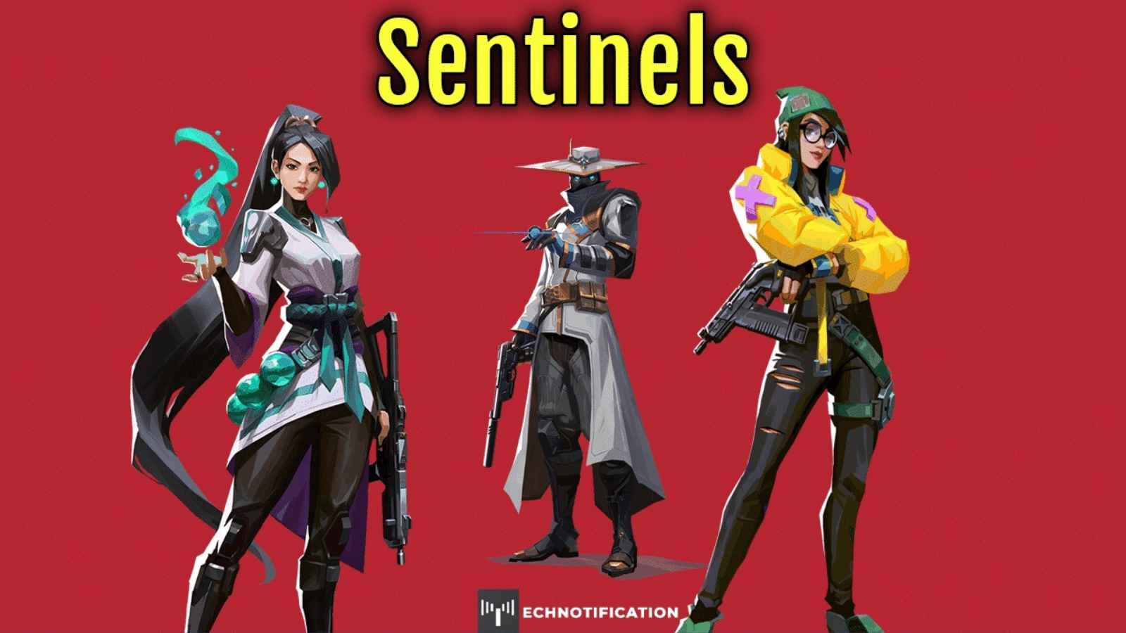 Why are Sentinels in Valorant Important: Roles as Agents