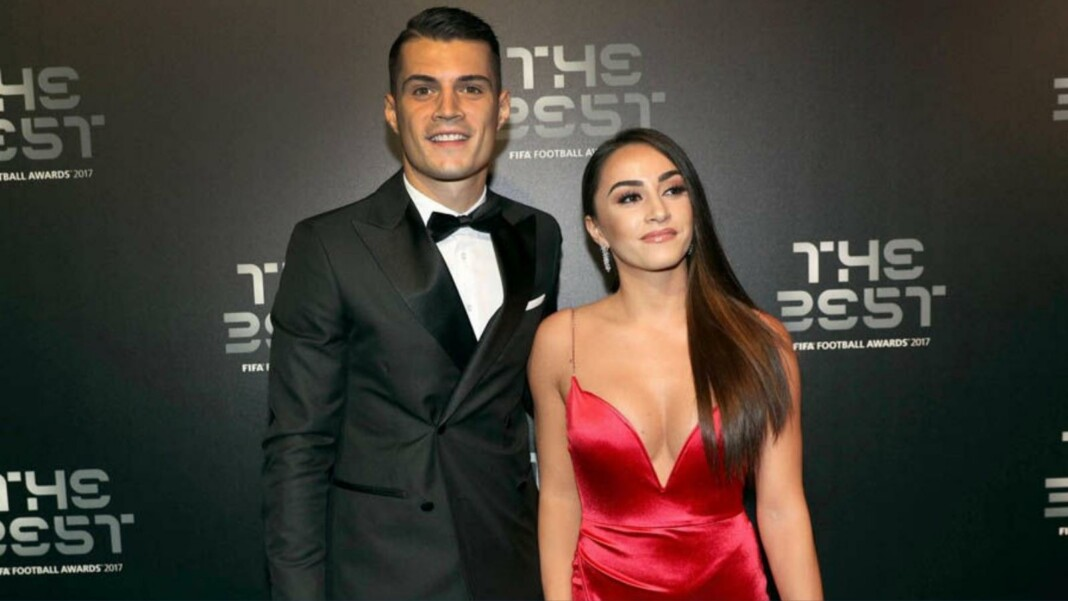 Granit Xhaka wife: All you need to know about the Instagram model
