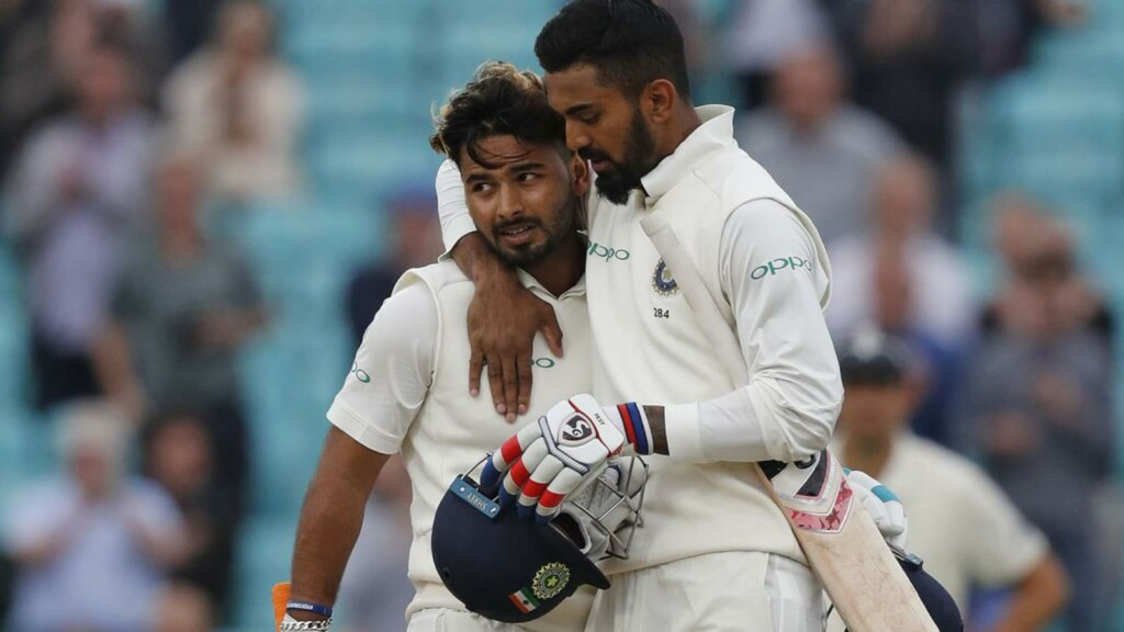 Rishabh Pant and KL Rahul
