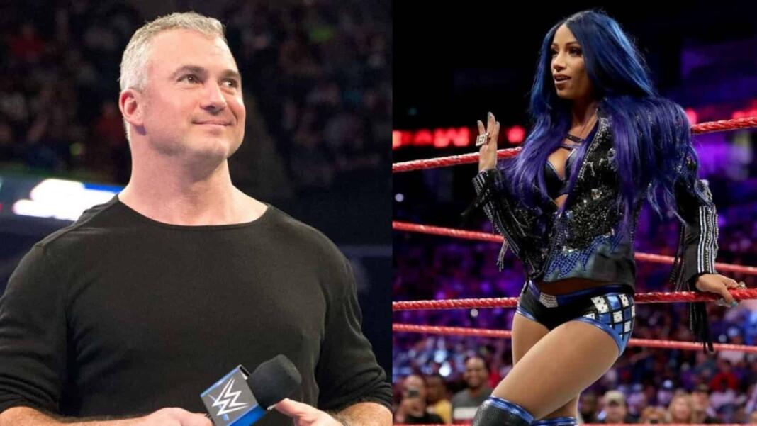Shane McMahon and Sasha Banks have not many matches at Summerslam