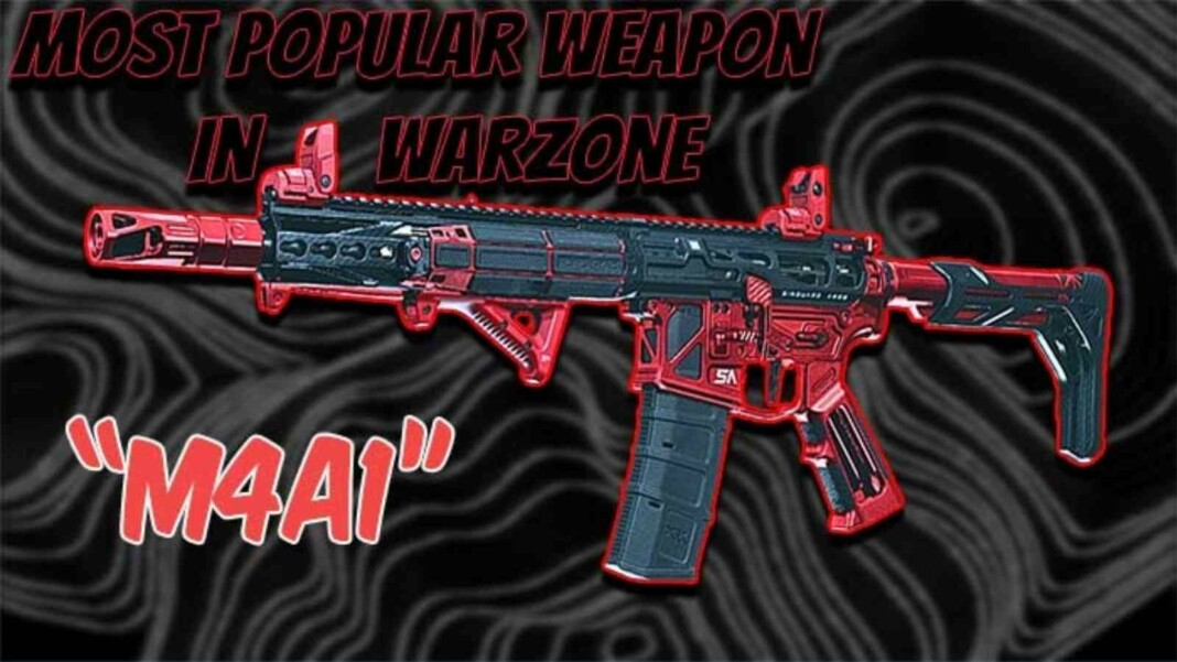 The Best M4A1 Warzone Loadout with Details