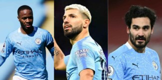 Manchester City's top goalscorer from every Premier League season