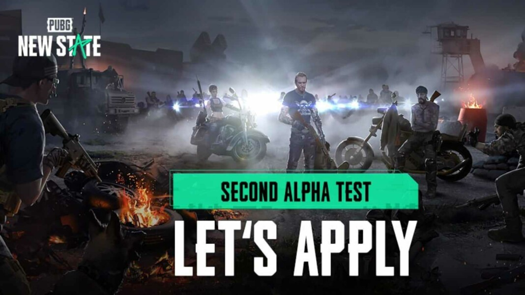 How to register for PUBG New State second alpha test?
