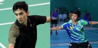 India's Junior Badminton Players; Lakshya Sen and Tasnim Mir