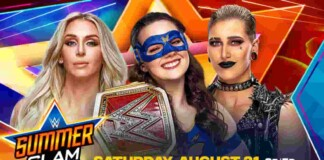Who will exit Summerslam as the Raw Women's Champion?
