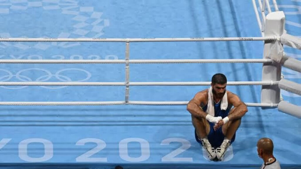 Strangest Moments at Tokyo Olympics: Mourad Aliev