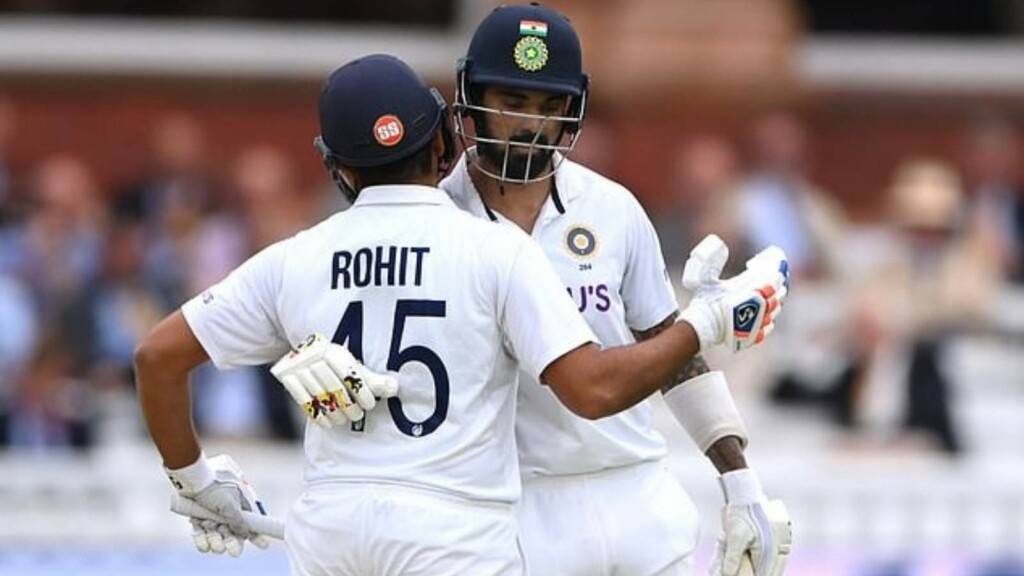 Rohit Sharma and KL Rahul