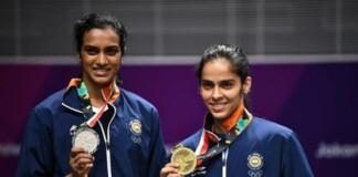PV Sindhu and Saina Nehwal