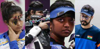 Indian shooting team at Tokyo Olympics failed to win a single medal
