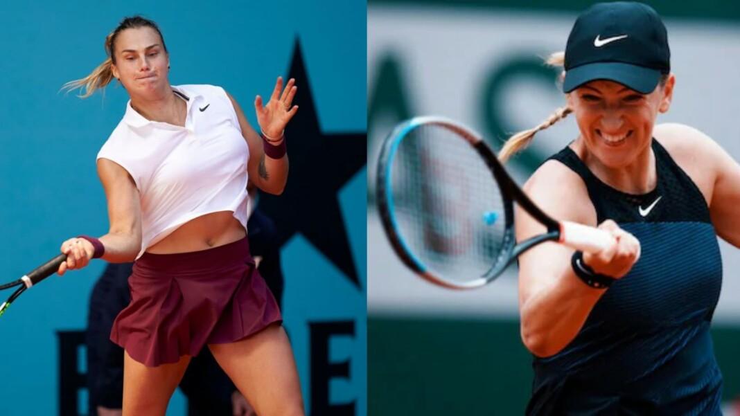 Aryna Sabalenka vs Victoria Azarenka