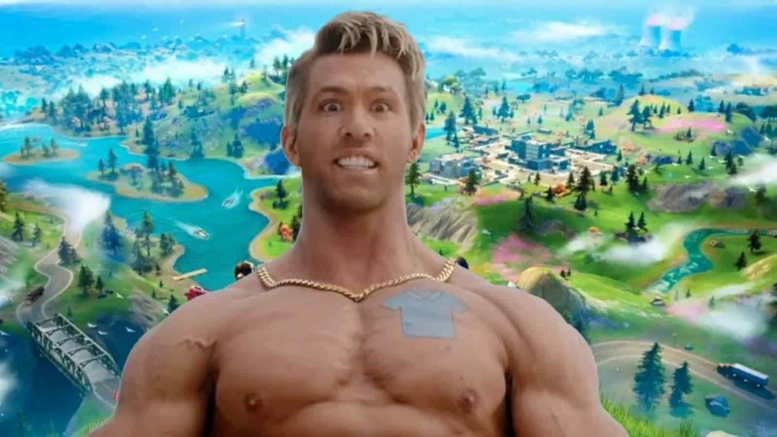 Fortnite Dude Skin: Ryan Reynolds Free Guy New Skin in Season 7