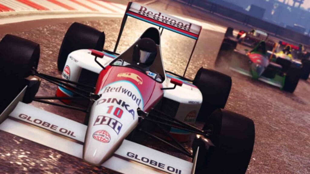 How to join an open-wheel race in GTA 5