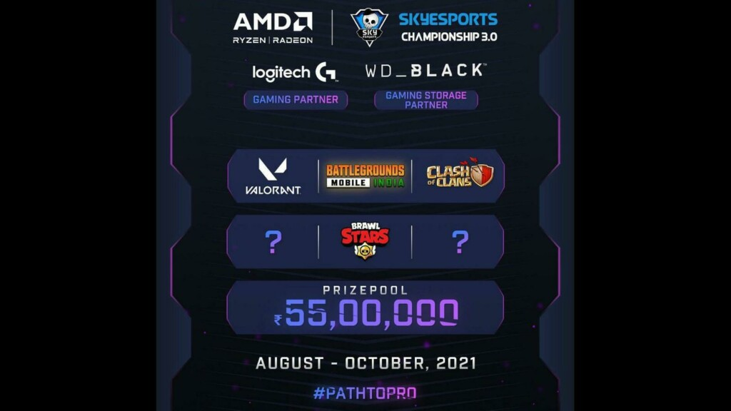 Skyesports announces BGMI Championship  with a massive prize pool of 25 Lakhs