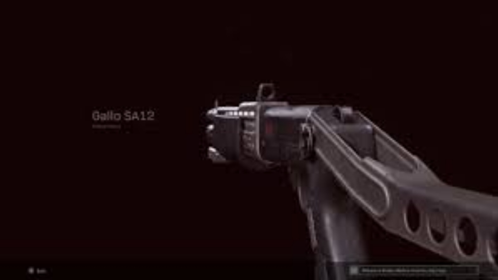 The Best Gallo SA12 Warzone Loadout with Details
