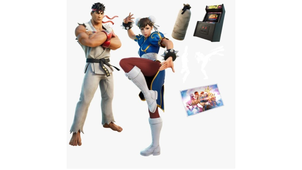 Fortnite Ryu and Chun-Li Bundle: New Outfit Price, and Other Details
