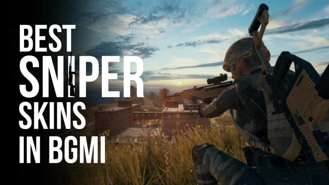 Battlegrounds Mobile India: Top 5 best sniper skins in BGMI