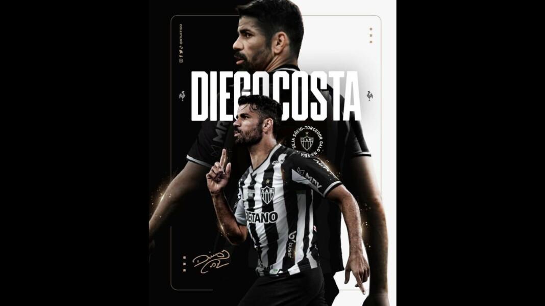Diego Costa joins Athletico Mineiro