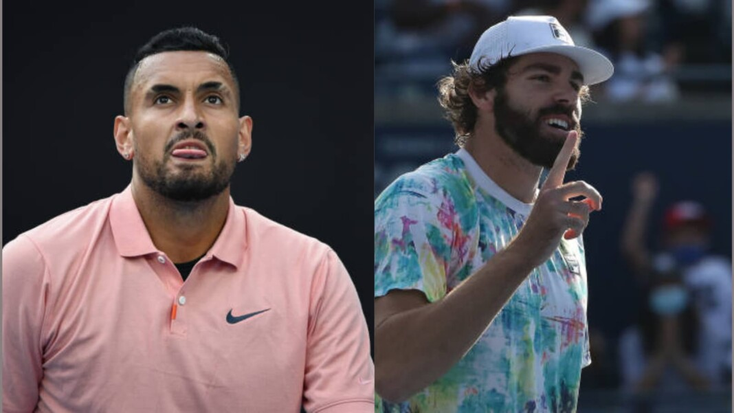 Nick Kyrgios and Reilly Opelka