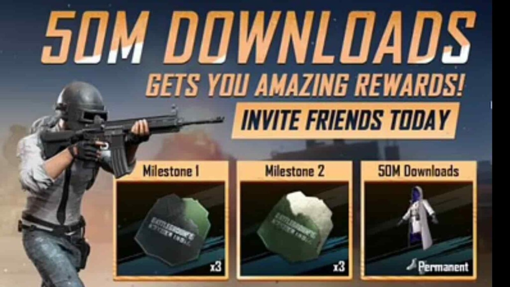 BGMI crosses 50 million downloads: Claim your in-game reward now!