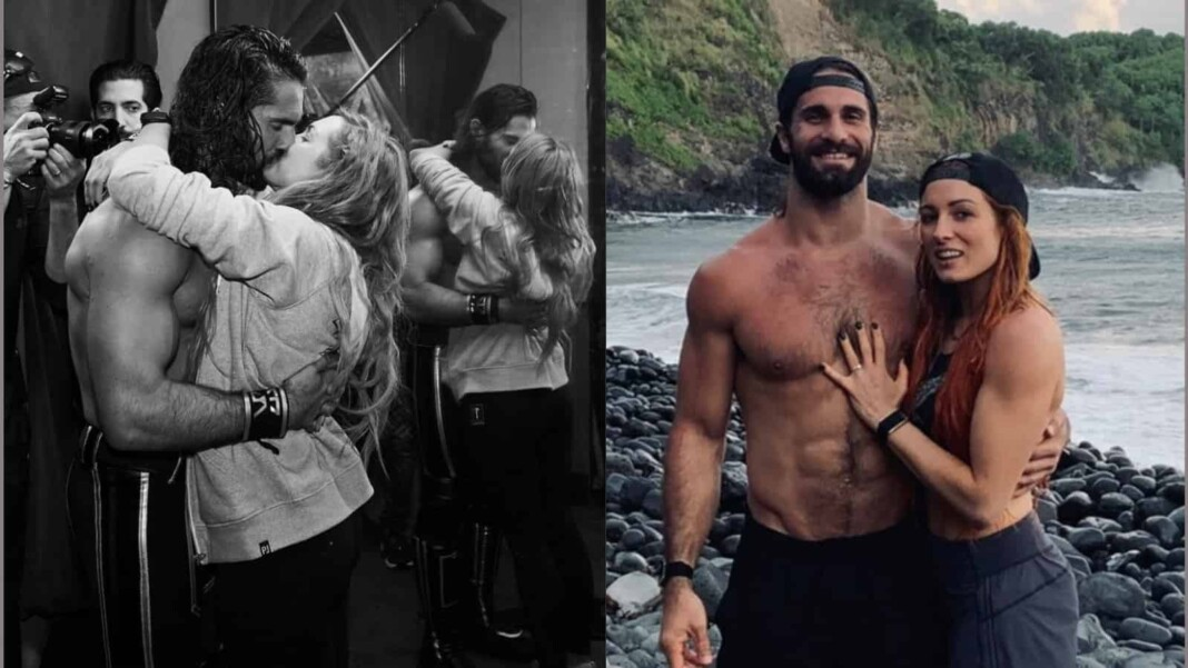Becky Lynch husband is fellow WWE superstar Seth Rollins