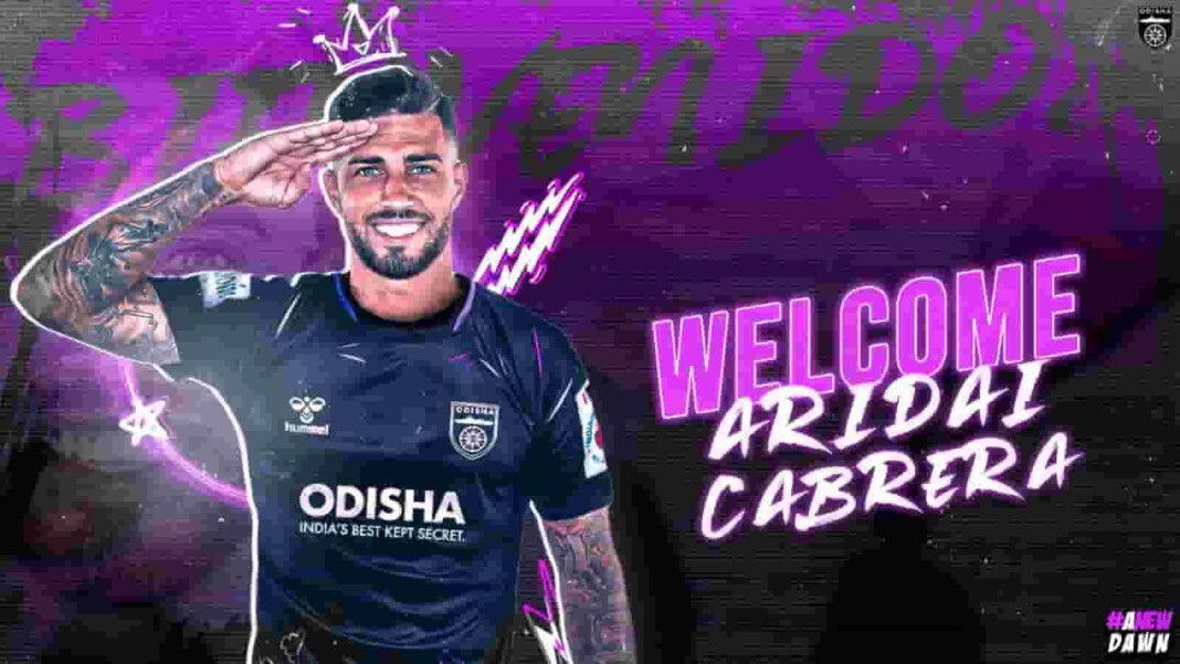 Aridai Cabrera joins Odisha FC