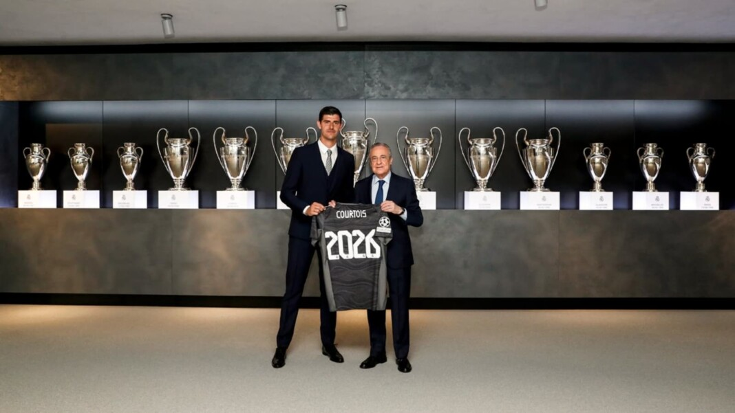 Thibaut Courtois renews with Real Madrid