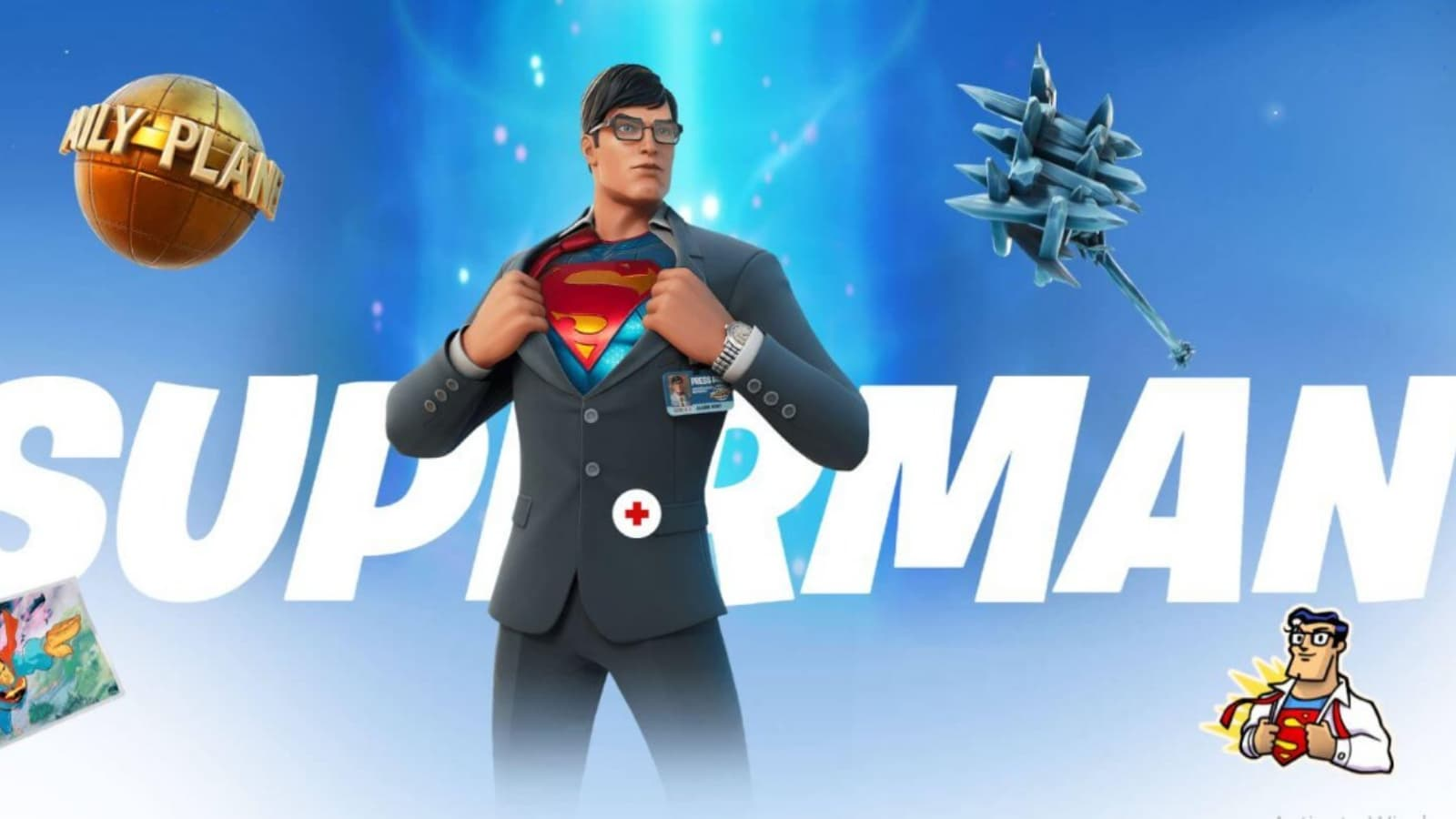 Fortnite Glitch in Season 7 Turns Every Skin to Superman