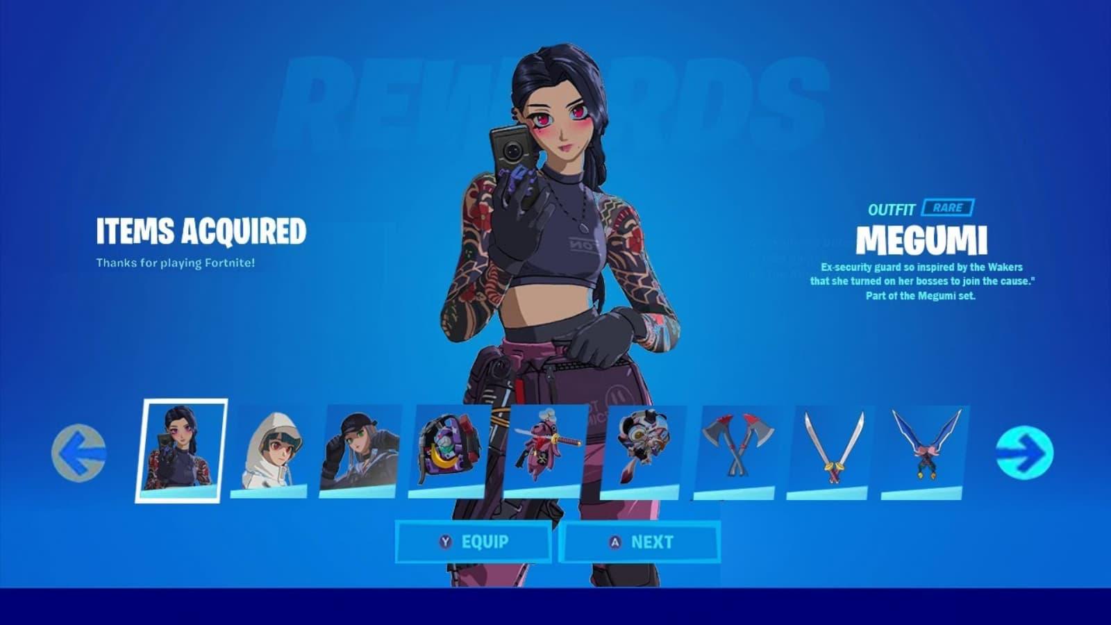 Fortnite Cyber Infiltration Pack in Season 7: Anime Skins Bundle Return