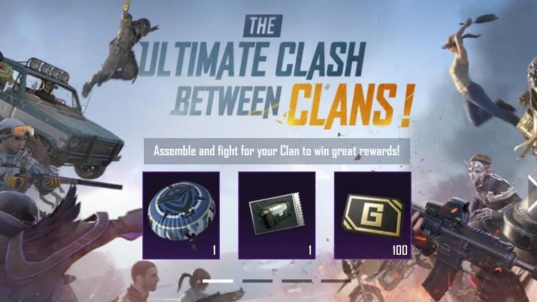 Clan Battle Event BGMI: Get a free parachute skin!