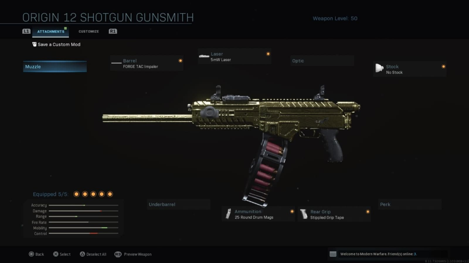 The Best ORIGIN 12 Warzone Loadout with Details