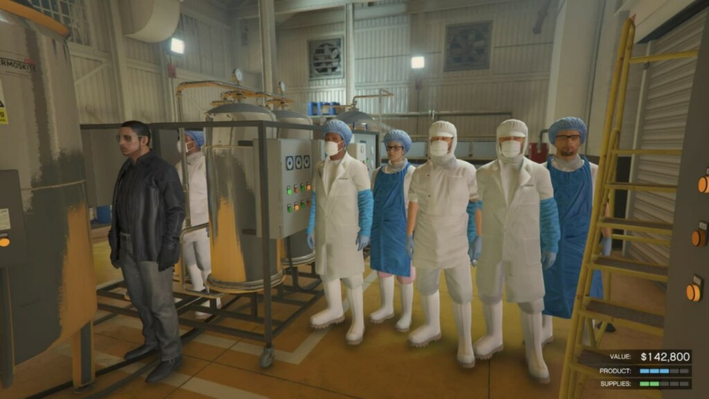 How to purchase and set up the meth lab in GTA 5