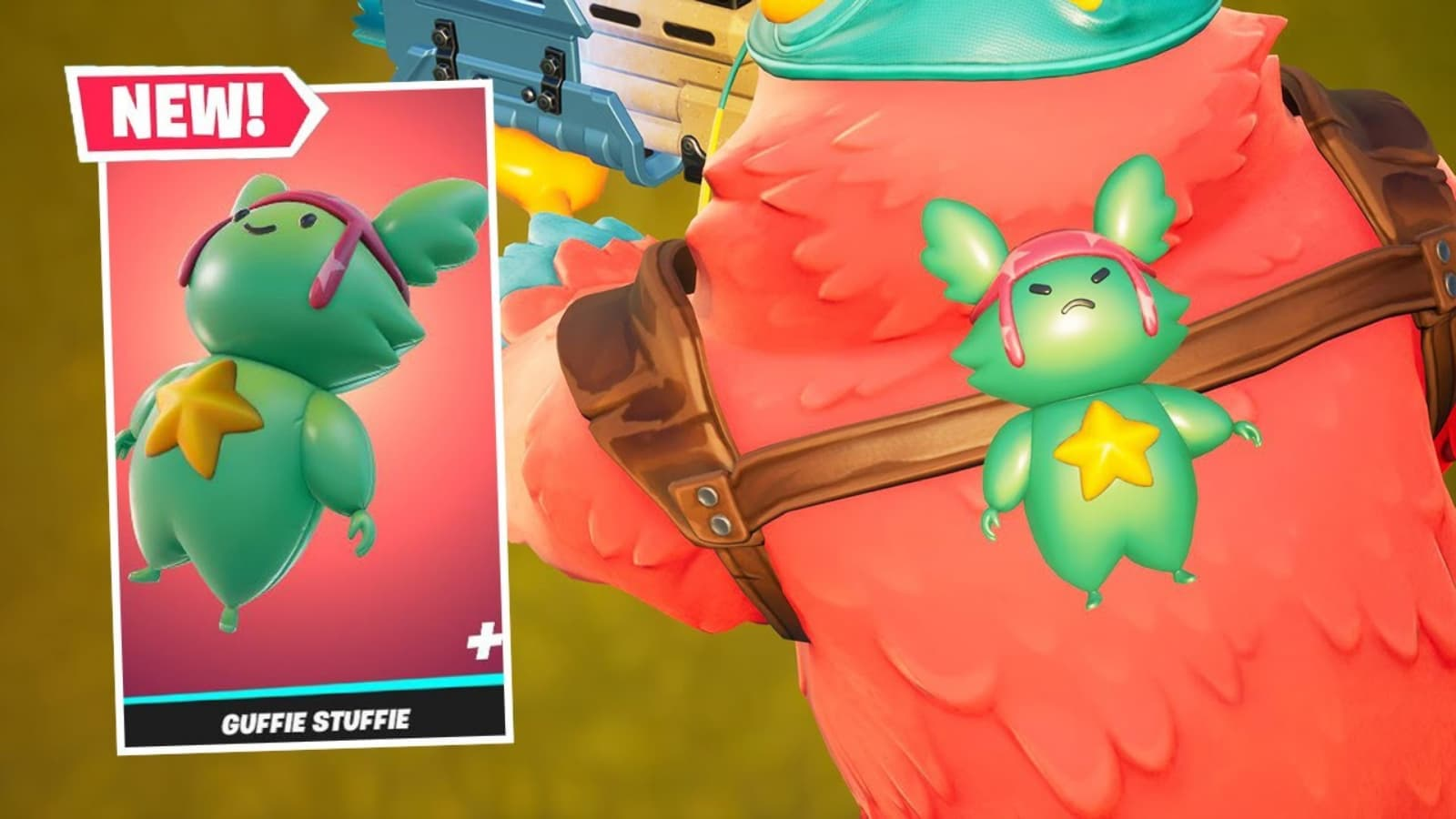 Fortnite Guffie Stuffie Back Bling: New Back Bling Price, and Other Details