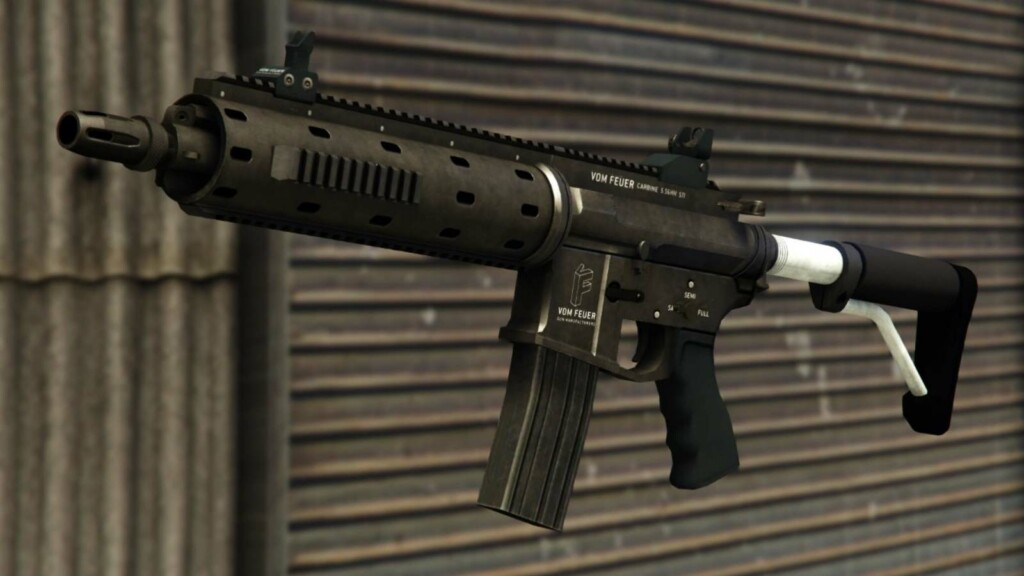 Top 3 rifles in GTA 5